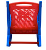 Dolphin Rocker Kids Chair in Blue & Red Colour by Nilkamal