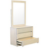 Estela Dresser-Mirror Set in Artisan Oak Finish by CasaCraft