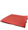 Double Futon Sofa Cum Bed with Mattress in Red Colour by ARRA