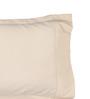 Dreamscape Beige Cotton 27 x 17 Inch Pillow Cover - Set of 2