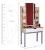 Dressing Table with Maple Finish by Tube Style