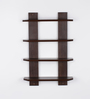 Buenos Wall Shelf in Walnut by CasaCraft