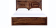 Dover Queen Bed in Provincial Teak Finish by Woodsworth
