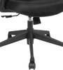 Dune High Back Ergonomic Chair in Black Colour by Star India