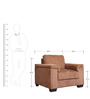 Clyden One Seater Sofa by HomeTown