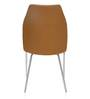 Duro Dining Chair in Rust Colour by @Home