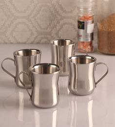 Dynamic Store Stainless Steel Cups - Set Of 4 - 1300644