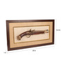 E-Studio Multicolor Wooden Flintlock Frame
