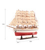 E-Studio Multicolor Wooden France Ii Scale Model Ship