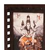 E-Studio Shiva with Vahana Wooden 17 x 3 x 21 Inch Framed Art Print