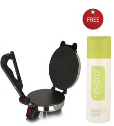 Eagle Electric Roti Maker with Zuska Odyssey Deodorant For Women150 ml Free worth Rs 210/-