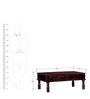 Maclay Coffee Table in Provincial Teak Finish by Amberville