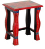 Vaditra - Painted Set Of Tables by Mudramark