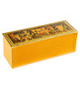 Ecoleatherette Leatherette Eco-friendly Multicolour 3 Compartments Handcrafted Bangle Box