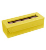 Ecoleatherette Leatherette Lime Yellow 4-case Watch Box