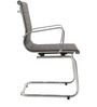 Economical Mid Back Office Chair in Black Colour by FabChair