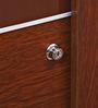 Edward Sliding Door Wardrobe in Walnut Finish by HomeTown