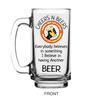 Ek Do Dhai Talli Talk Glass 370 ML Beer Mug