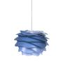 Ekko Blue Plastic Luz Azul Led Pendant