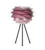 Shontelle Table Tripod Lamp in Pink by Bohemiana