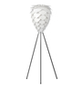 Ekko White Polypropylene Berry Led Tripod Floor Lamp