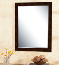 Elegant Arts And Frames P 327-96 Brown Synthetic Wall Mirror
