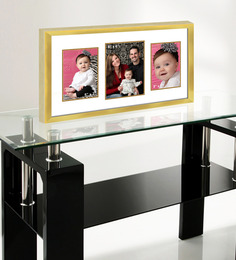 Elegant Arts And Frames Gold Metal 12 X 24 Inch Collage Photo Frame