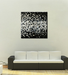 Elegant Arts And Frames Canvas 27.6 X 27.6 Inch Illustration By Anand Channar Framed Painting