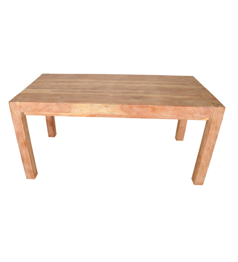 Basil Elegant Old Wood Dining Table By Mudra Online Dining Tables