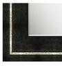 Alondro Bath Mirror in Black by CasaCraft