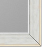 Adelia Bath Mirror in White by Casacraft