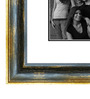 Elegant Arts and Frames Brown Wooden 28 x 1 x 40 Inch 15 Pocket Maple Family Collage Photo Frame