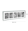Eurico Collage Photo Frame in Silver by CasaCraft