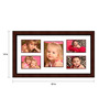 Escobar Collage Photo Frame in Red by CasaCraft
