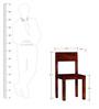Elkhorn Dining Chair in Honey Oak Finish by Woodsworth