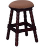 Kirkland Stool in Passion Mahogany Finish by Amberville