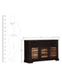 Elliston Sideboard in Warm Chestnut Finish by Amberville