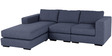 Emilio Superb LHS Sofa in Blue Colour by Furny