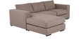 Emilio Superb LHS Sofa in Brown Colour by Furny