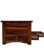 Emerald Coffee Table in Teak Finish by Royal Oak