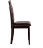 Enrique Four Seater Dining Set in Wenge Colour by CasaCraft