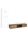 Entertainment Unit in Brown Colour by Arancia Mobel