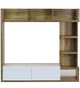 Itsuki Entertainment Wall Unit in Natural Finish by Mintwud