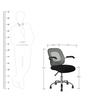 Ergonomic Chair in Black Colour by Penache Furnishings