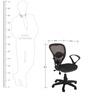 Ergonomic Mesh Back Office Chair by KS