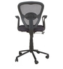 Ergonomic Mesh Backrest Staff Office Chair with Push Back Mechanism by Star India