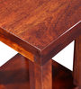 Eros Console Table in Honey Oak Finish by Woodsworth