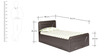 Espana Single Bed in Wenge Finish by Kurl-On