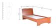 Estilo Single Bed by StyleSpa