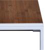 Essen Coffee Table in White &Walnut  Finish by Evok